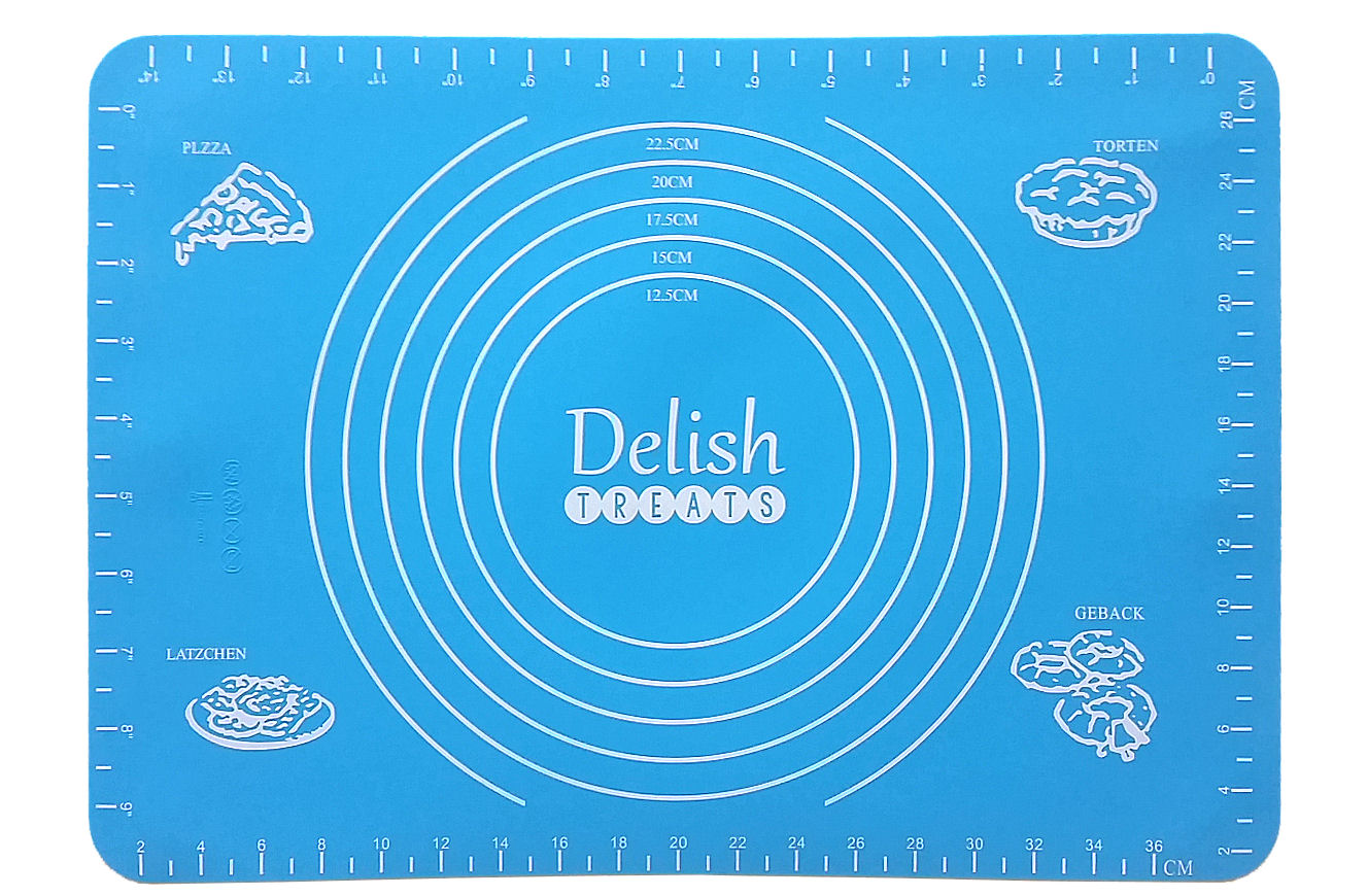 Delish Treats Silicone Mat - Shopaholic for Kids