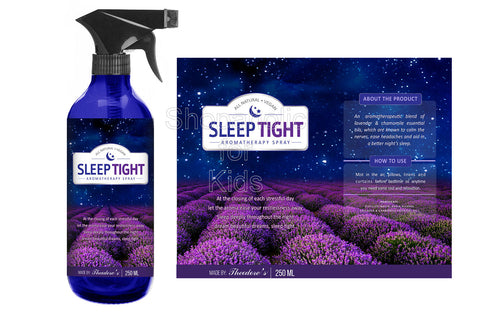 Theodore's All Natural - Vegan, Sleeptight Aromatherapy Spray