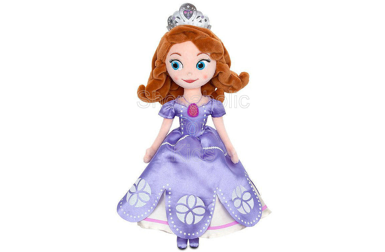 Sofia the First Plush - Shopaholic for Kids