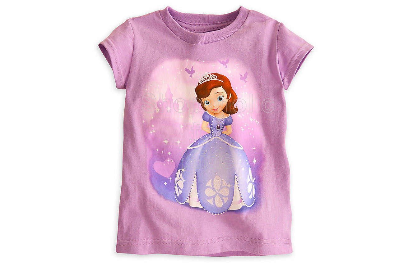Sofia the First Tee - Shopaholic for Kids