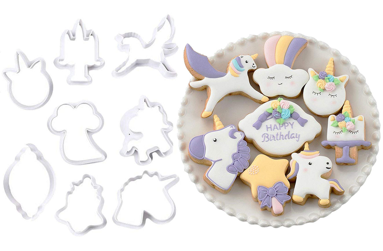Delish Treats Cookie Cutter - Unicorns - Shopaholic for Kids