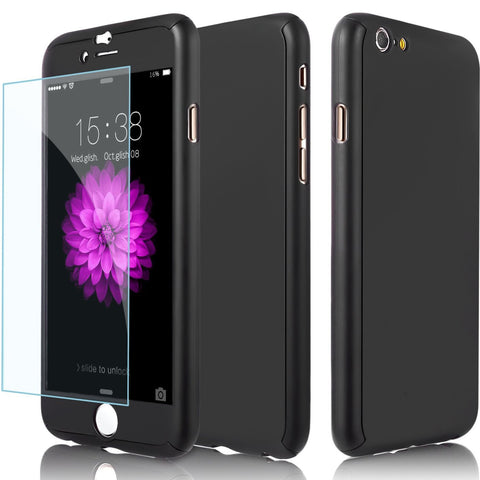 360 Full Cover Protection Case for iPhone