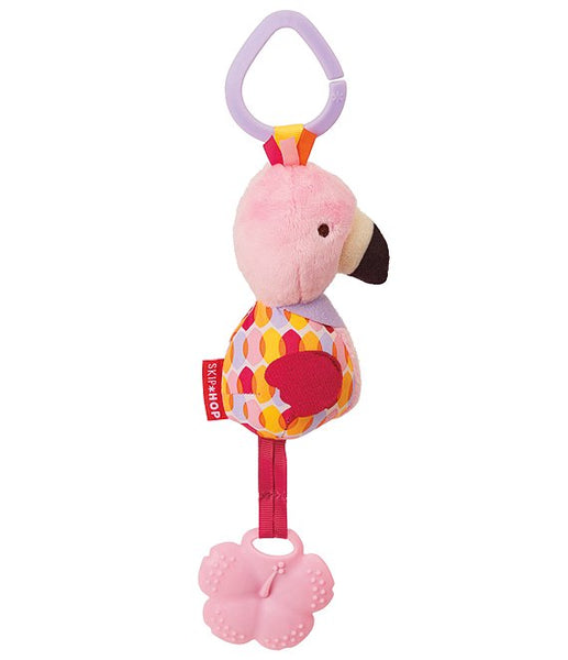 Skip Hop Bandana Buddies Chime & Teethe - Flamingo