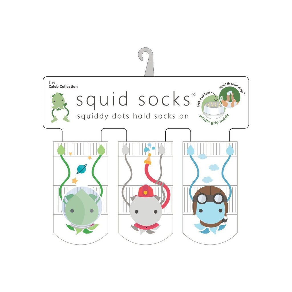 Squid Socks - Caleb Collection / 6 to 12 Months