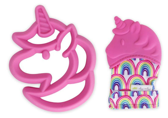 Itzy Ritzy Teething Mitt & Teether Gift Set - Unicorn