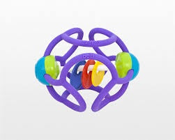 Ogobolli Squishy Rattle Ball - Assorted