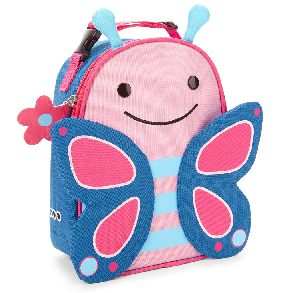 Skip Hop Zoo Insulated Lunch Bag - Butterfly