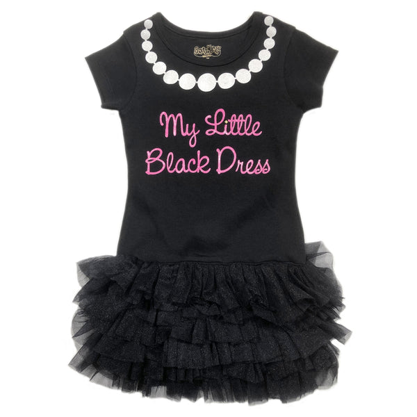 Sara Kety Little Black Dress Toddler Dress
