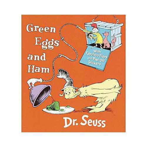 Green Eggs and Ham Flaps