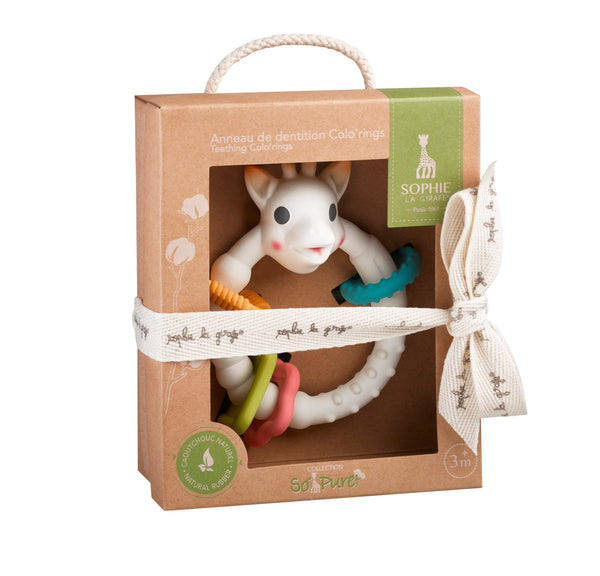 Calisson Sophie La GIrafe So'Pure Teething Colo'ring