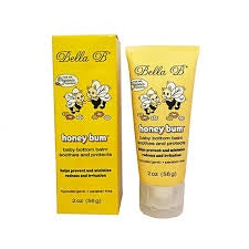 Bella B Baby Honey Bum Baby Bottom Balm - 2oz Tube