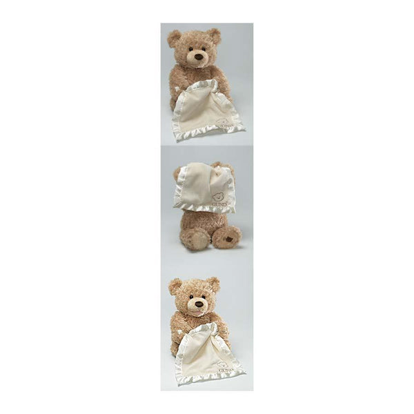 Gund Animated Peek-A-Boo Bear