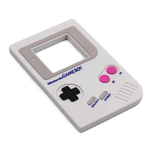 Bumkins Silicone Teether - Nintendo Game Boy