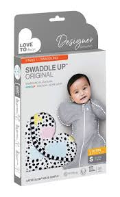 Love to Dream Swaddle Up - Original Designer Polka Dot / Small