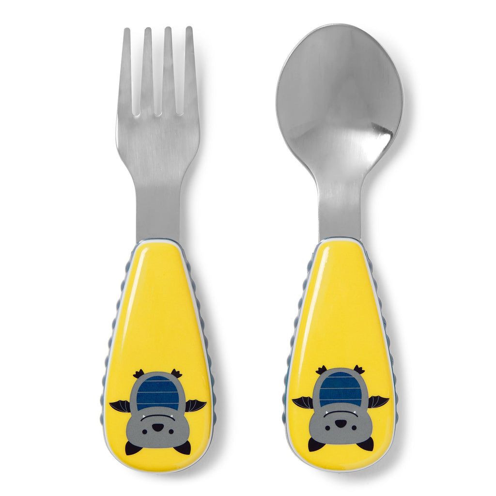 Skip Hop Zootensils Fork and Spoon - Bat