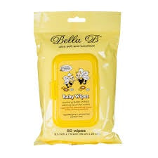 Bella B Baby Baby Wipes - 50 Wipes