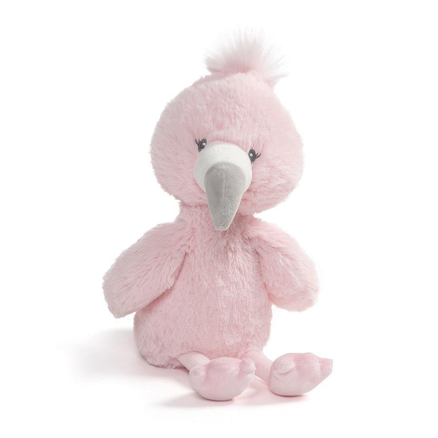 Gund Baby Toothpick Plush - Flamingo / 12""