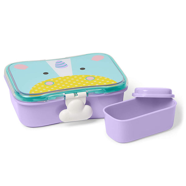 Skip Hop Toddler Mealtime Lunch Kit Feeding Set, Unicorn