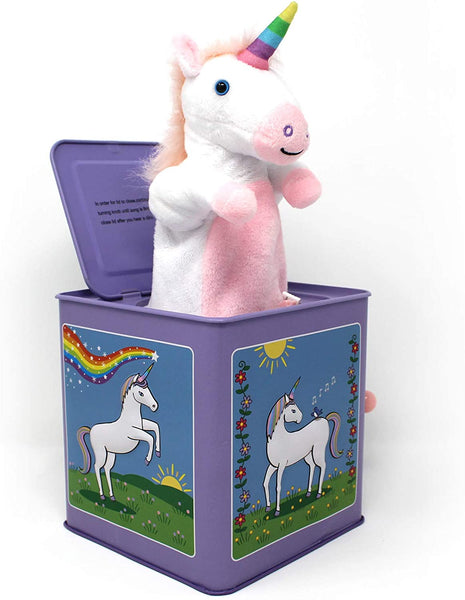 Jack Rabbit Creations Jack in the Box - Unicorn