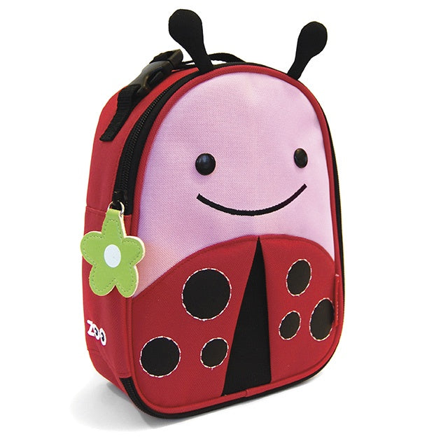 Skip Hop Zoo Insulated Lunch Bag - Ladybug