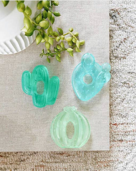Itzy Ritzy Cutie Coolers Cactus Water Teethers - 3 pack