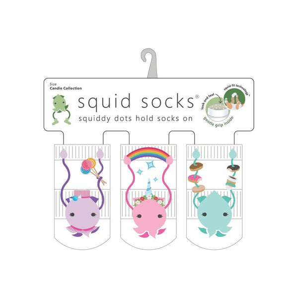 Squid Socks - Candie Collection / 6 to 12 Months
