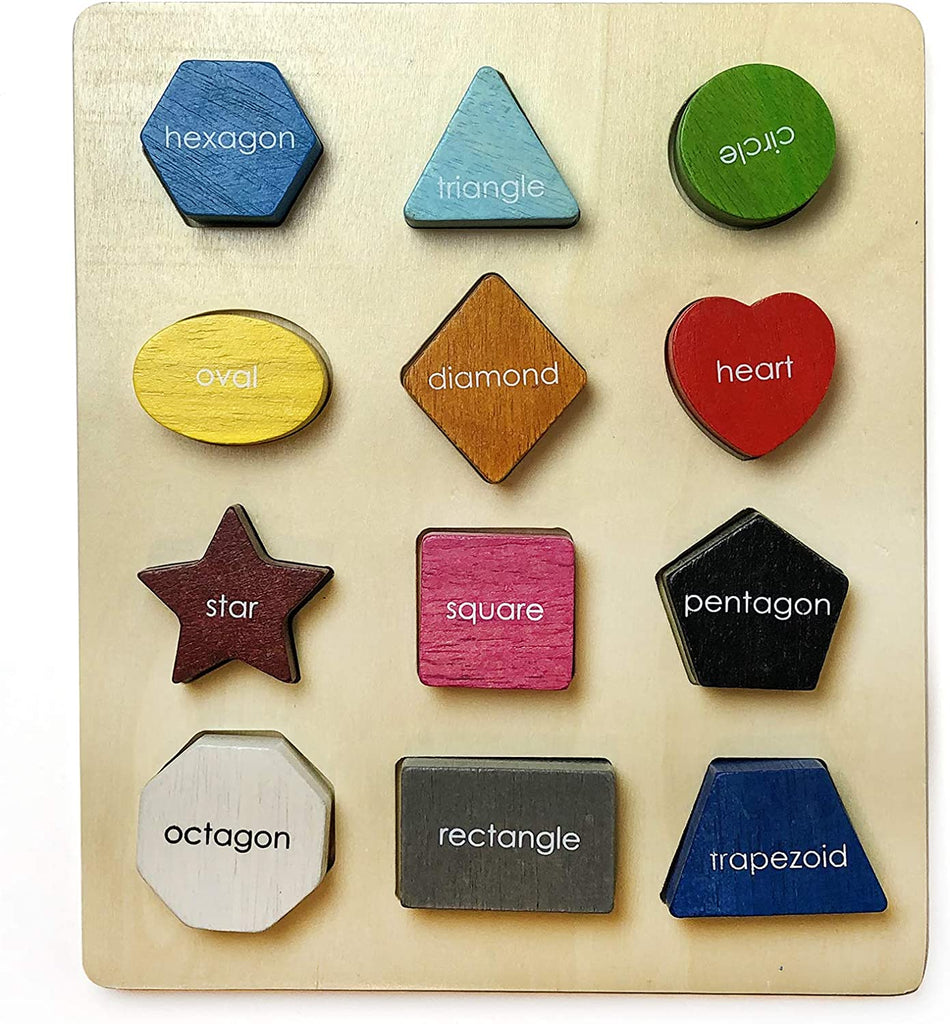 Begin Again Basic Shape Sorter