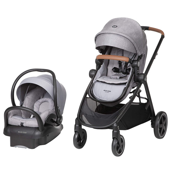 Maxi-Cosi Zelia Max 5-in-1 Travel System - Nomad Grey
