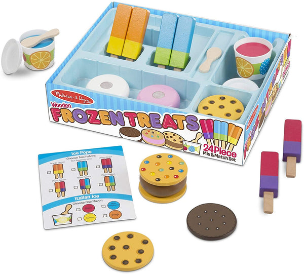 Melissa & Doug Wooden Frozen Treats Set