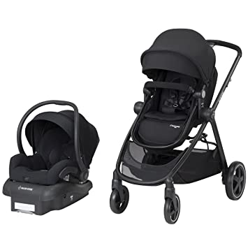 Maxi-Cosi Zelia 5-in-1 Modular Travel System - Night Black