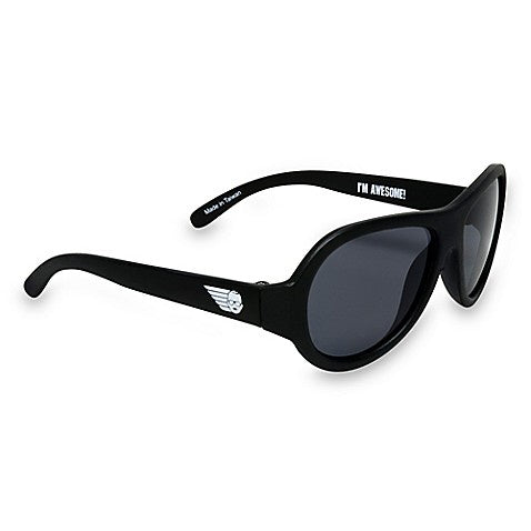 Babiators Aviator Sunglasses - Black Ops Black 3-5 Years