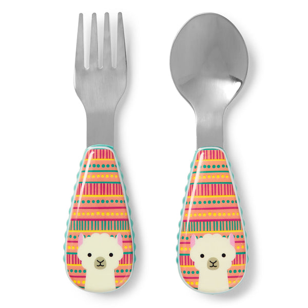 Skip Hop Zootensils Fork and Spoon - Llama