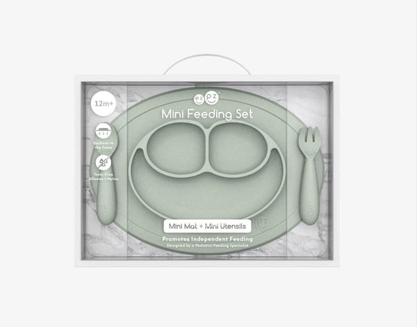 EZPZ Mini Feeding Set - Sage