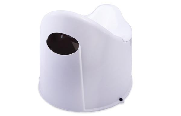 Potty Safe Potty Trainer - Grey