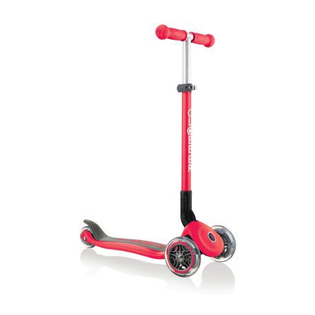 Globber Primo Foldable Scooter - Red