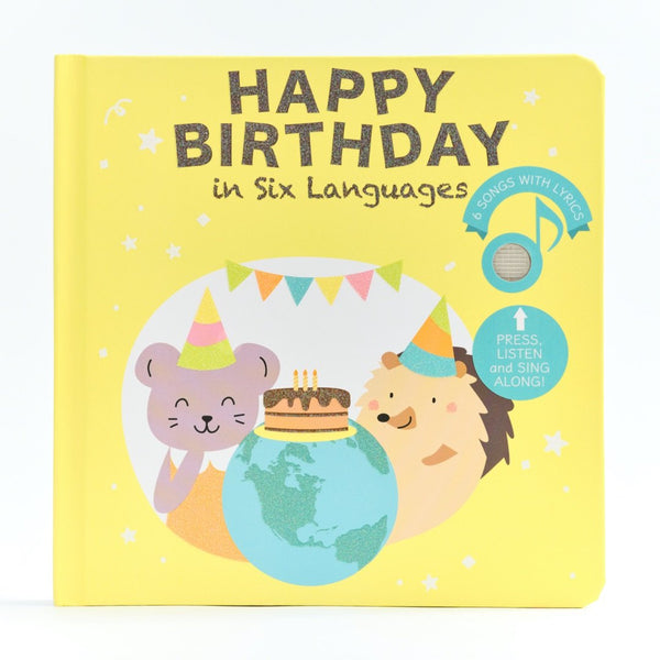 Cali's Books Happy Birthday in Six Languages
