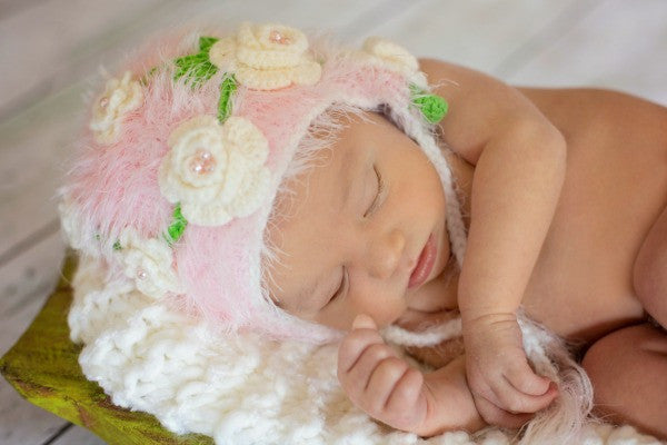 The Daisy Baby Knitted Hats