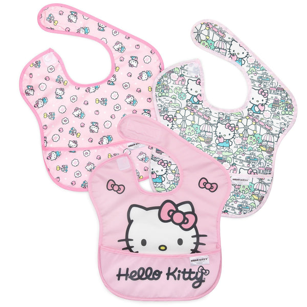 Bumkins Superbib - Hello Kitty / 3 Pack