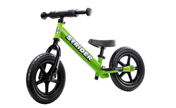 "Strider 12"" Sport Balance Bike - Green"