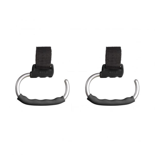 OXO Handy Stroller Hook - Gray / 2 Pack