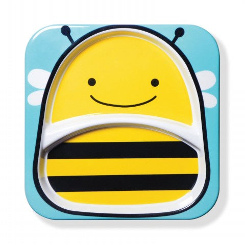 Skip Hop Zoo Divided Plate - Bee