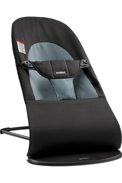 Baby Bjorn Bouncer Balance Soft - Black / Dark Grey Cotton