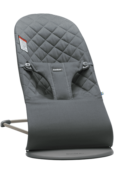 Baby Bjorn Bouncer Bliss - Anthracite Cotton