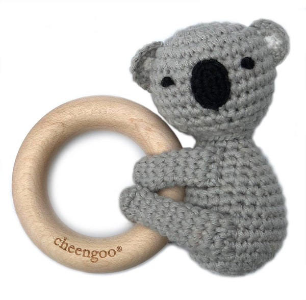 Cheengoo Teething Rattle - Koala
