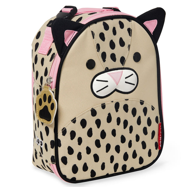 Skip Hop Zoo Insulated Lunch Bag - Leopard