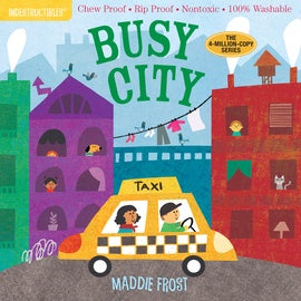 Indestructibles Book - Busy City