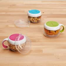 DNOOXO Flippy Snack Cup w/ Travel Cover
