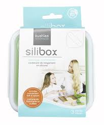 Kushies Silibox Silicone Container - Lime Square