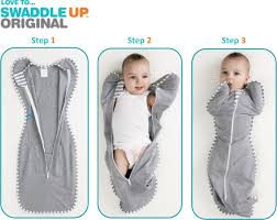 Love to Dream Swaddle Up - Bamboo Origional / Grey / Small