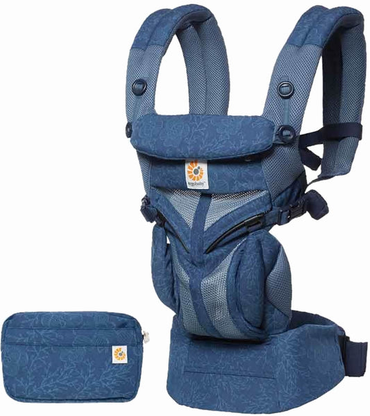 Ergobaby Omni 360 All-in-One Carrier - Blue Blooms